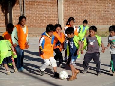 Futsal scrimmage