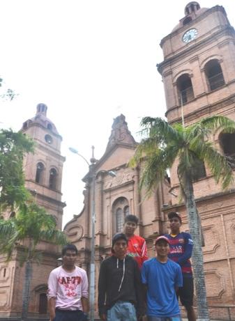 The cathedral of Santa Cruz