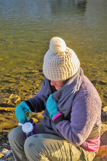 Any microbes in water this cold are impressive