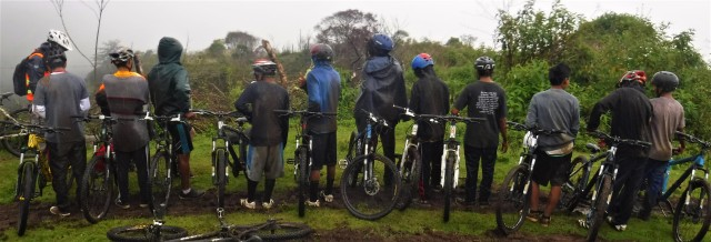 Experiencing the fullness of life sometimes mean getting muddy and rising hard in the freezing rain for five hours.
